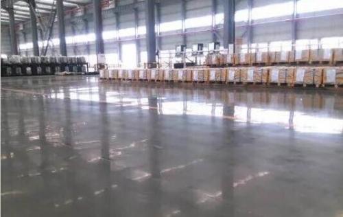 重庆武钢焊拼激光有限公司地坪工程