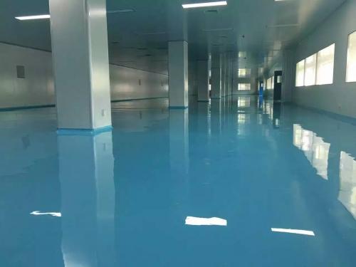 水泥自流平彩色聚氨酯罩面耐磨地坪