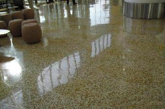 混凝土染色磨石地坪